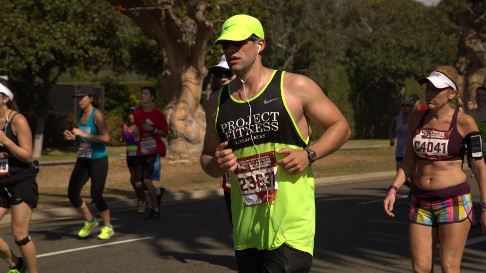 Paulo Spritze LA Marathon